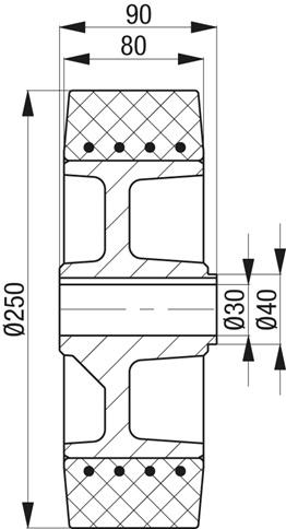 REV250X80 30 90 N 1