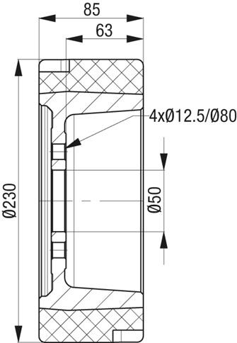 RTH230X85 50 4 1